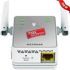 Wi-Fi Range Extender Wireless Network Signal Booster Router Repeater Antenna New #Netgear