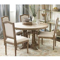 Cora Pedestal Dining Table