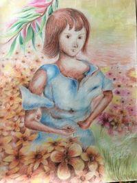 Alice is in her garden