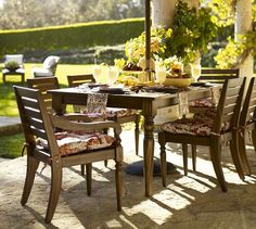Faraday Dining Chair & Cushion | Pottery Barn