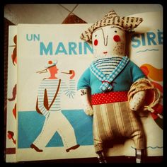 Handmade Sailor Doll  #marin #julieadore #instagram   too adorable!