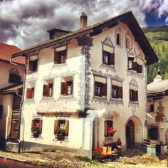 Traditional Graubünden House - The Swiss CrissCross is a group of friends, and professional photographers, doing a double crossing of Switzerland by bike. First on the road, crossing many of the Alp's highest passes, then by mountain bike, through the Alps on singletrack. #SwissCrissCross
