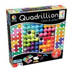 Quadrillion, Solo Puzzle Game.
