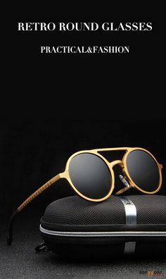 US$18.66+Free shipping. Men Sunglasses, Summer Glasses, Retro Round Glasses, Color: Black, Silver, Gun, Brown, Gold. Practical and fashion, show your own style!