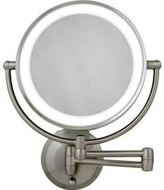This One Meets All Of Your Expectations It Is Battery Operated Wall Mounted Lighted Makeup Mirror