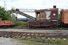 Bucyrus C/N 195 115 tons Wrecker Steam 01-16  Atlanta & West Point #2 --- USA