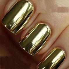 nail art #puregoldnails