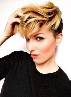 Short Hairstyles for Women: Feminine Pixie