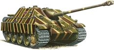 Sd.Kfz 173 Jagdpanther camouflage patterns - Earl Grey collection