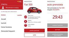 L'app ufficiale ENI enjoy per Windows Phone si aggiorna alla versione 1.6.0.1 http://www.sapereweb.it/lapp-ufficiale-eni-enjoy-per-windows-phone-si-aggiorna-alla-versione-1-6-0-1/        ENI enjoy Enjoy è il servizio di car sharing ENI realizzato in partnership con Fiat e Trenitalia che permettere con comodità di prenotare l'auto più vicina alla nostra posizione tramite un'applicazione dedicata. L'app ufficiale per Windows Phone 8 in queste ore ha ricevuto un agg