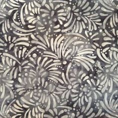 Fabric Material Flower Batik  Great for Crafts by CraftingFabric, $3.00