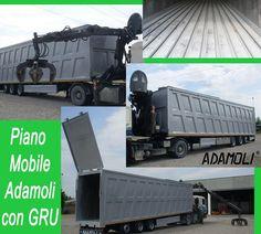 BREAKING NEWS #ADAMOLI  #Semirimorchio #Adamoli 3 assi dotato di #pianomobile a 12 doghe, furgone #rinforzato in alluminio, 80m3 circa, #gru #marchesi con polipo e rotore, tetto fisso posteriore con #boccadicarico anteriore, porta unica posteriore basculante, 10 gomme R19,5. AFFARE SPECIALE!! Contattateci su commerciale@adamoli.it per ogni #informazione. #AdamoliItalianFloor #MadeinItaly #usato #used #vehicle #walkingfloor #movingfloor #PMsumisura