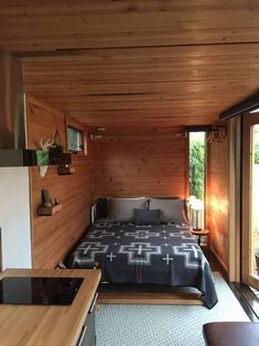 Check out this awesome Hokura PDX Container Home. Located in Portland OR and built by the awesome people of This is another Steel Box contstructed home. Let us know what you think of this place. Shipping Container Home Designs, Cargo Container Homes, Building A Container Home, Shipping Container House Plans, Container Buildings, Storage Container Homes, Shipping Containers, Shipping Container Interior, 20ft Container