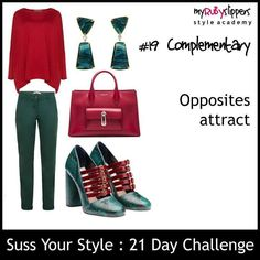 21 day challenge.  Day 19 complementary  #colours #colourful #dresswithoutstress #dresstoimpress #dressforsuccess #empower #fabover40 #fabover50 #lookgoodfeelgood #midlifecrisis #niftyfifty #ootd #personalbranding #selfconfidence #selfimage #style #styleacademy #stylechallenge #styleguide #stylesavvy #styletips #womeninbiz #womenswisdom