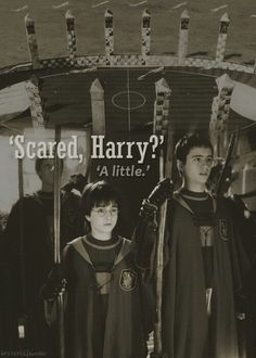 Harry's first quiddich game <3