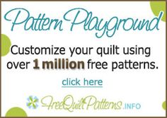 Amazing Site! Choose your quilt size and style from 1 million different designs. Then add your fabric colors and styles and this site PRODUCES A PATTERN FOR YOU!!!