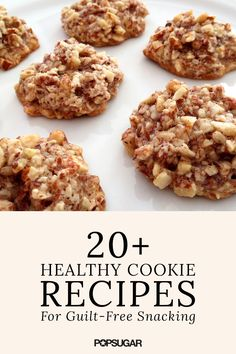 You can have a cookie (or two!) with these healthy recipes. There is a recipe for every diet with these vegan, paleo and gluten free recipes!