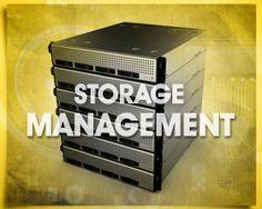 data storage, storage management