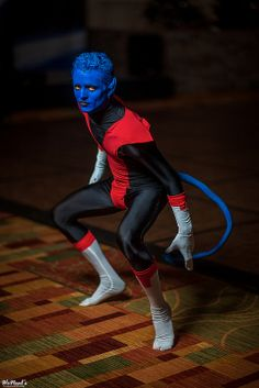 Character: Nightcrawler (Kurt Wagner) / From: MARVEL Comics 'The Uncanny X-Men' / Cosplayer: Unknown