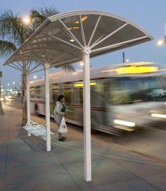 McAllen deploys 8 new solar-powered bus stop shelters Modular Structure, Shade Structure, Solar Energy Panels, Best Solar Panels, Urban Furniture, Street Furniture, Vertical Garden Design, Shelter Design, Solar Roof Tiles