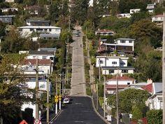 Drive up Baldwin Street, Dunedin, New Zealand - Bucket List Dream from TripBucket