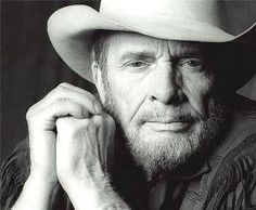 Merle Haggard - He played a private party for us at a Centel LPGA Tournament in Florida