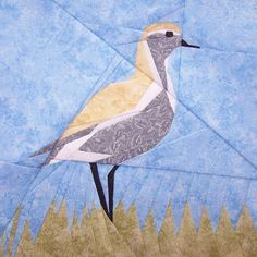 Paper Piecing Quilt Patterns, Animals and Flowers | http://www.finecraftguild.com/paper-piecing-quilt-patterns-animals-flowers/