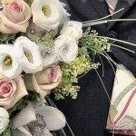 Bouquet e addobbi floreali per matrimonio con crisantemi