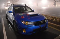 zombie killer WRX foggy Wrx, Beast, Vehicles, Blue, Vehicle, Tools