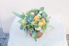 Undone Wedding Flower