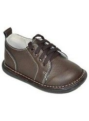 Brown Lace Up Boys Shoe