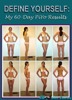 60 Day Before & After Piyo Results with complete review. thefitnessfocus.com