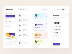 User Interface Design Inspiration : Every day most digital designers look for inspiration on sources like Dribbble or Behance for mobile and webdesign. Dashboard Ui, Dashboard Design, Ui Ux Design, Design Responsive, Flat Design, Design Layouts, Responsive Web, Graphic Design, Cover Design