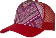 Keep the sun out of your eyes with this prAna La Viva Trucker Cap.