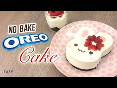 NO-BAKE Bunny Oreo Cheesecake!! The Perfect Summer Dessert - YouTube