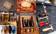 Looking for some cool DIY projects for men? Check out these crafty ideas we found for manly home decor, awesome gear, and even some fun fashion for guys to make when they are feeling crafty. Complete with step by step instructions and cool photo tutorials, look no further for your next weekend proje