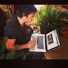 Ian Somerhalder - 07/05/14 - Answering your FB questions in the #yearsproject Q&A right now! You're energy and voices created 300+million impressions for #CoalSucks in the last few days! Holy Sh#%!!!! That is serious. You rock. You're the most powerful force in the world. Love you. Mean it. Ian http://instagram.com/p/ns-STZqJ4V/ - Twitter & Instagram Pictures