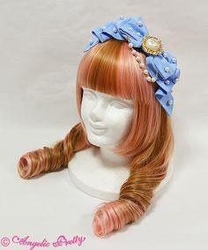 Angelic Pretty きまぐれ Dolly Ribbonカチューシャ