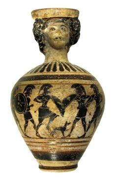 Recuperati un balsamario protocorinzio e un elmo illirico di VII sec.a.C.