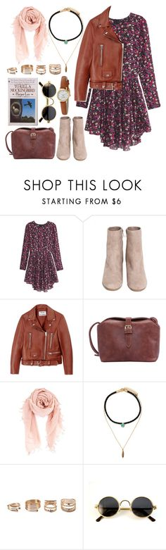 """""""Untitled #314"""" by dark-king ❤ liked on Polyvore featuring H&M, Acne Studios, Chan Luu, Forever 21 and Kate Spade"""