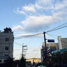 #ipone6  #korea  #오늘의사진  #구름