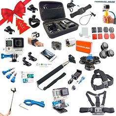 Nomadic Gear Universal Advanced Accessory kit with Epic Photo Shooting 101 ebook for GoPro Sony Action Camera Garmin Ricoh Action Cam SJCAM and Smartphones 41 Items >>> You can find more details by visiting the image link.
