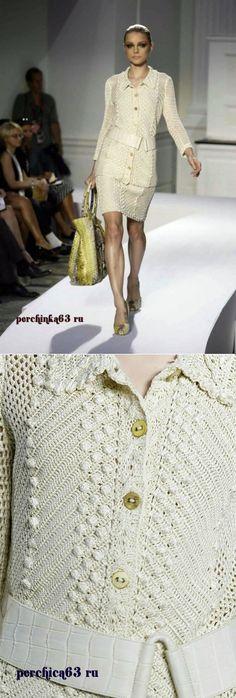 Phong cách phù hợp với móc từ Oscar de la Renta