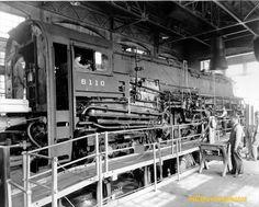 T1 #6110 at Test Plant Altoona - Pennsylvania Railroad Photographs