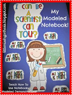 Classroom DIY: DIY Modeled Science Notebook!