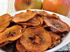 Pumpkin Spice Apple Chips - Low Carb, Gluten Free | Peace Love and Low Carb
