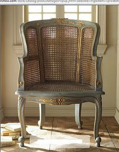 would love to paint my 1930's french commade chairs like this!!
