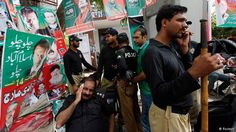 Pakistani protesters gather to march on Islamabad - DEUTSCHE WELLE #Pakistan, #Protests, #Islambad