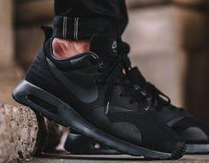 06953ff1dfc01b SPORTSWEAR ™®: Sportswear: Nike Air Max Tavas 'Blackout'. Running Shoes