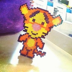 Cute Tigger perler beads by kylie_rocks5